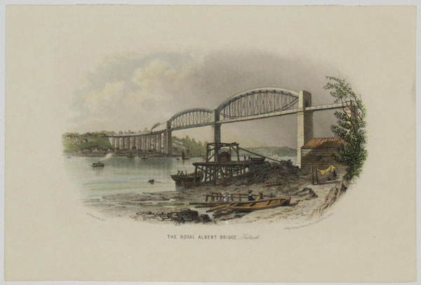 The Royal Albert Bridge. Saltash.