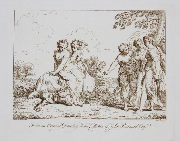 From an Original Drawing, in the Collection of John Barnard Esq.r.