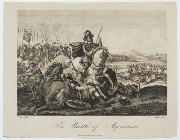 The Battle of Agincourt.