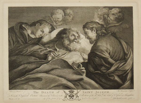 The Death of Saint Joseph.