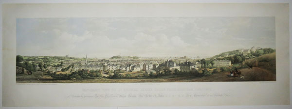 Panoramic View of St. Helier's, Jersey, Taken from Almorah Crescent,