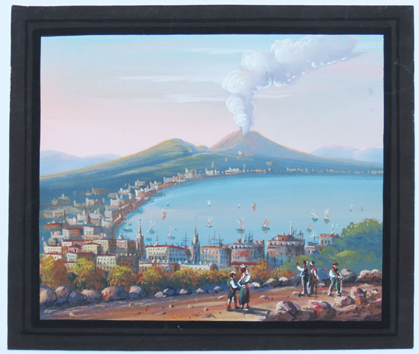 [Vesuvius and the Bay of Naples.]