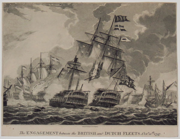 The Engagement between the British and Dutch Fleets, Oct.r 11th 1797