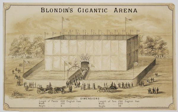 Blondin's Gigantic Arena.