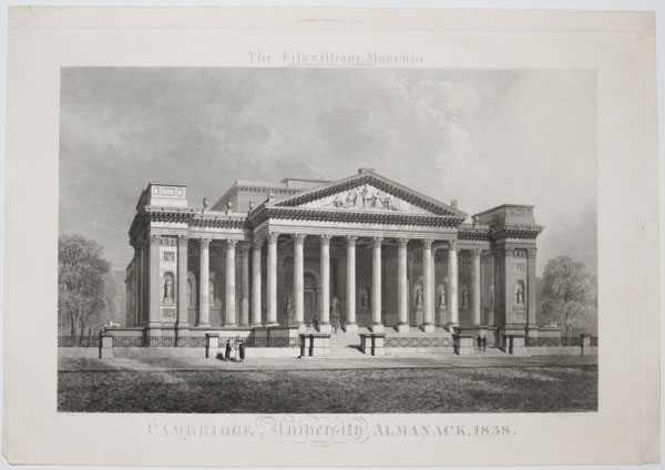 The Fitzwilliam Museum.  Now Being Erected at Cambridge.