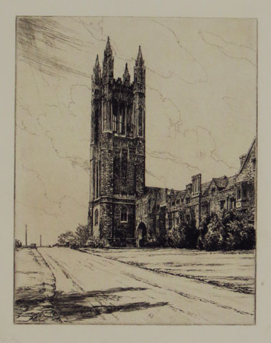 [Clock Tower, Princeton]