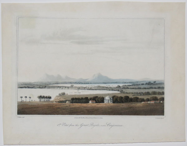 [Madras.] 1.st. View from the Great Pagoda, near Conjeveram.