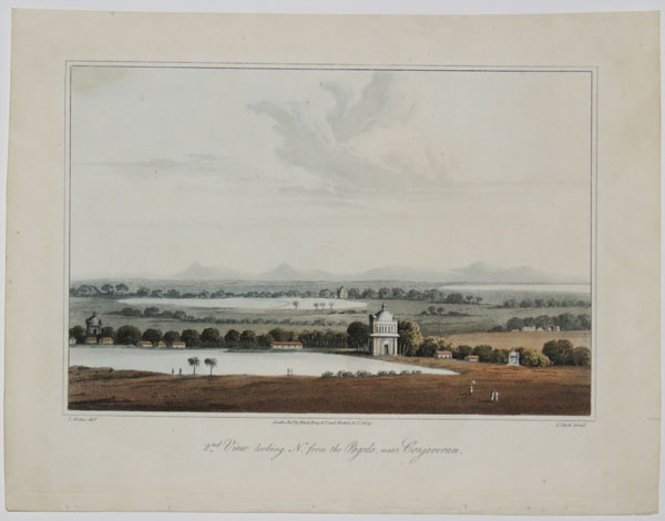 [Madras.] 2.d. View looking N. from the Pagoda, near Conjeveram.