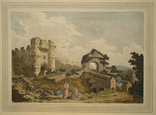 [Entrance to Carisbrook Castle,]