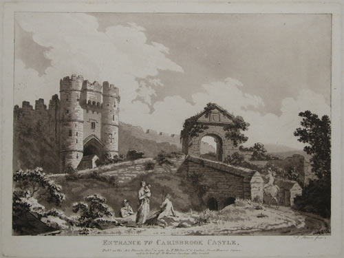 Entrance to Carisbrook Castle,