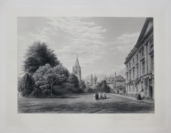 Front of Corpus Christi College from the Garden.