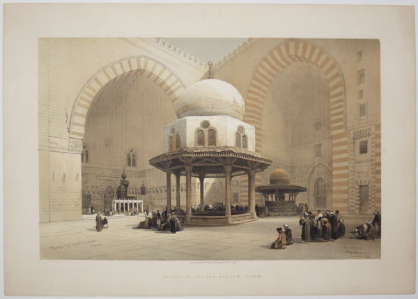 The Mosque of Sultan Hassan, Cairo.