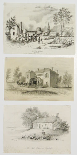 [Three Gretna Green-related prints]