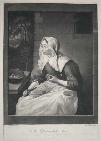 The Dutch Cook Maid.