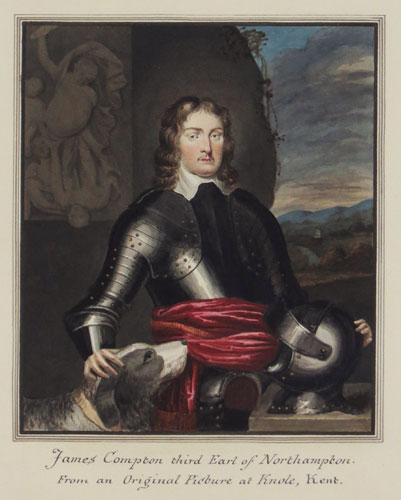 James Compton third earl of Northampton. From an Original Picture at Knole, Kent