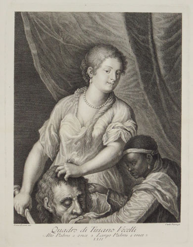 [Judith with the head of Holofernes]