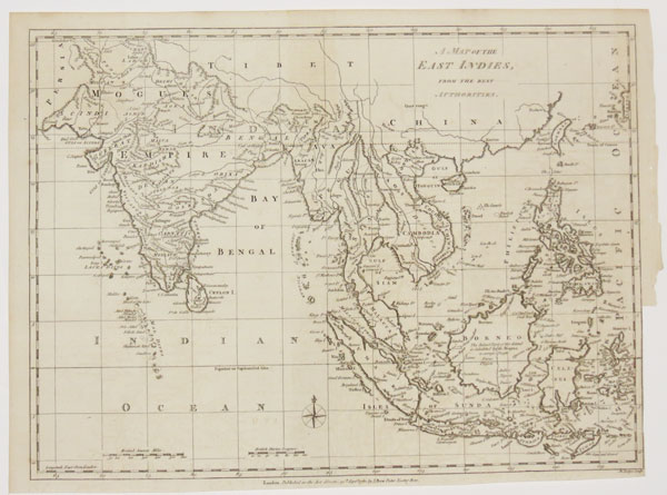 A Map of the East Indies,