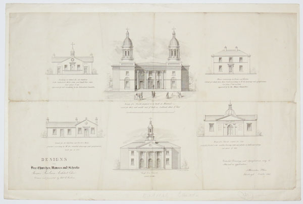 Designs for Free Churches, Manses and Schools
