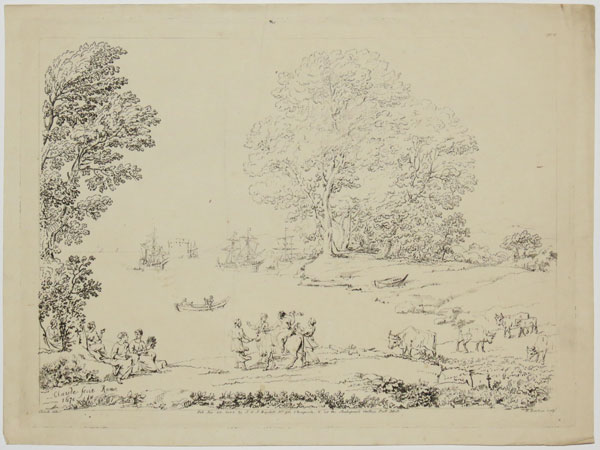 [Landscape with The Rape of Europa.] No. 6.