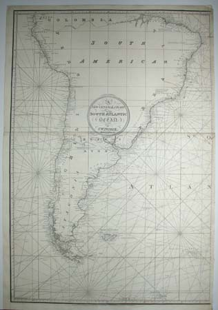 A New General Chart of the South Atlantic Ocean.