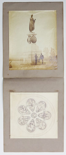 Photographs to accompany the papers relating to the Crimean Testimonial, dated August 26, 1862.