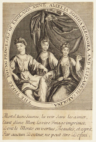 The Three Young Princesses of England,