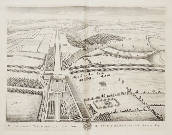 Ravenfield near Doncaster in York Shire, the Seat of Wardell George Westby Esq.