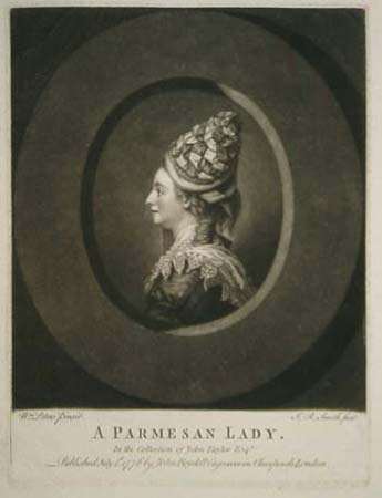 A Parmesan Lady. In the Collection of John Taylor Esqr.