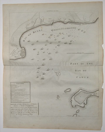 Draught of the Bay of Bulls between the Town of Rotta and Fort St. Catherine;