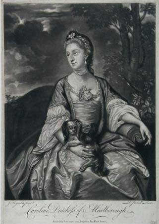 Caroline, Dutchess of Marlborough.