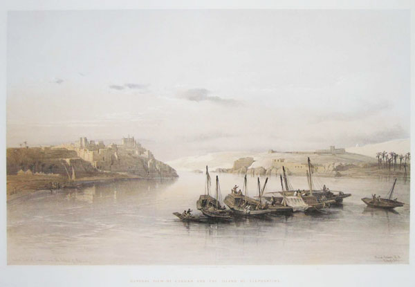 General View of Esouan and the Island of Elephantine.