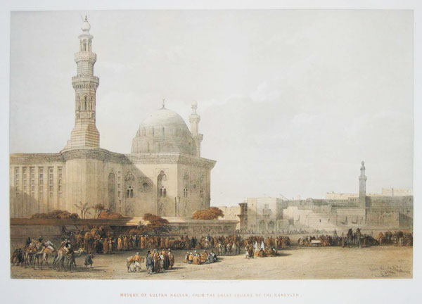 Mosque of Sultan Hassan, From the Great Square of the Rameyleh.