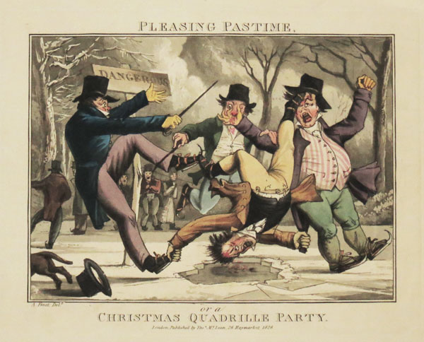 Pleasing Pastime, or a Christmas Quadrille Party.