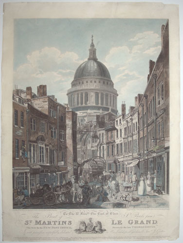 To The R.t Hon.ble The Earl of Essex, This Print of S.t Paul's, from S.t Martins Le Grand;