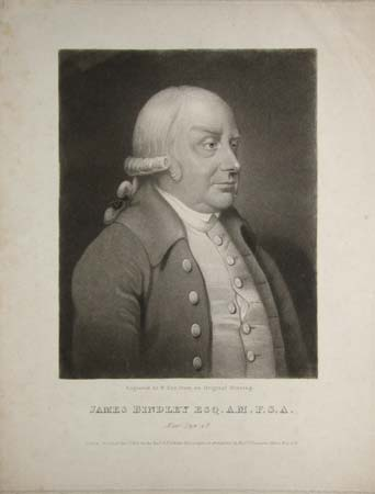 James Bindley Esq.A.M.F.S.A. Aetat Suae.48.