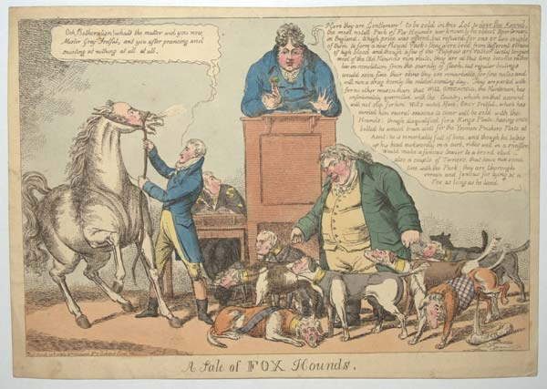 A Sale of Fox Hounds.