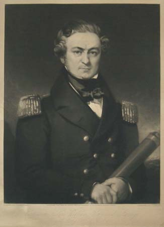 Captain Sir William Edward Parry.  Royal Navy. Kt. F.R.S & Co.