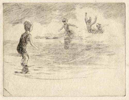 [Children Swimming]