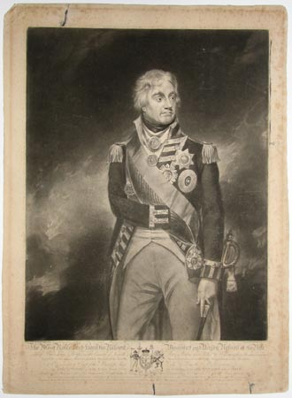 The Most Noble Lord Horation Nelson, Viscount and Baron Nelson of the Nile,