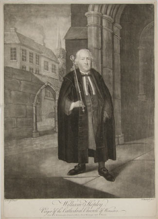 William Hopley, Virger of the Cathedral Church of Worcester.