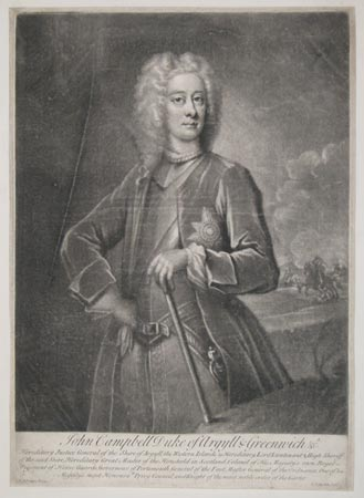 John Campbell Duke of Argyll & Greenwich &c.a
