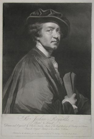 Sir Joshua Reynolds, ~ Painted by Himself.