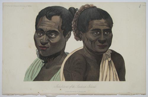 Inhabitants of the Sandwich Islands.