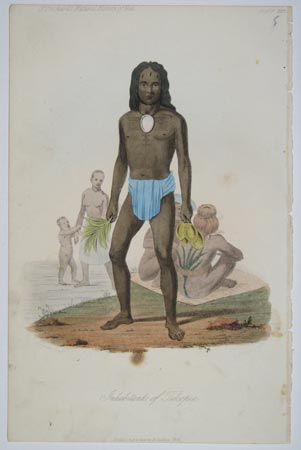 Inhabitants of Tikopia.