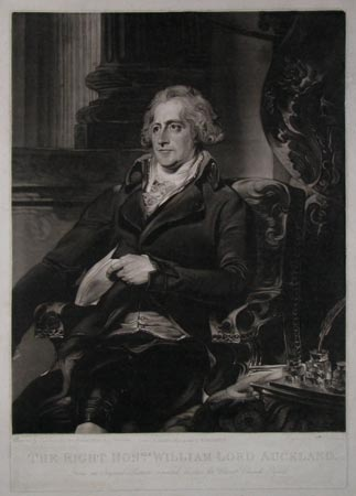 The Right Hon.ble William Lord Auckland.