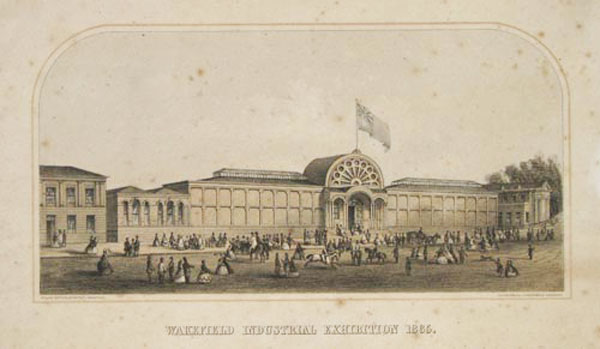 Wakefield Industrial Exhibition 1865.