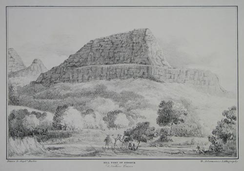 Hill Fort of Sidghur, Northern Concan.