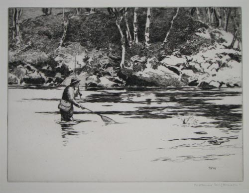 [Trout Fishing  River Garry.]