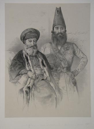 [An Ottoman governor and the Patriarch of Babylon.]