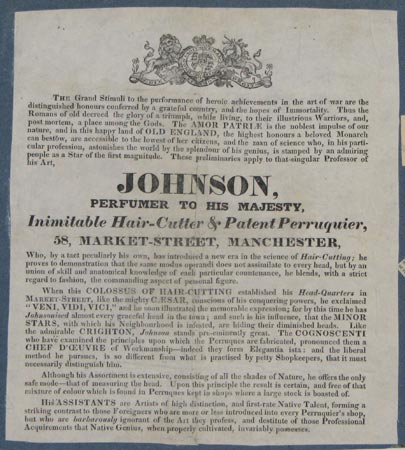 Johnson,  Perfumer To His Majesty,